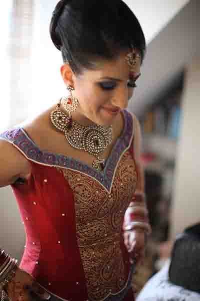 Bridal Jewellery and Headdress Asian Couture