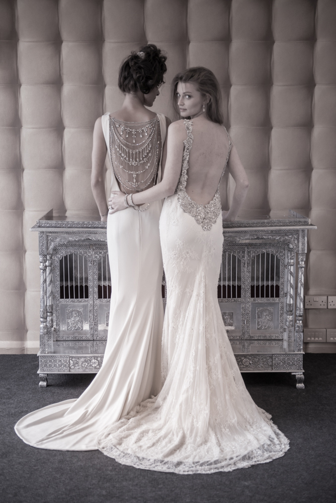 The Nuit D'Amour Dress and The Shalimar Dress