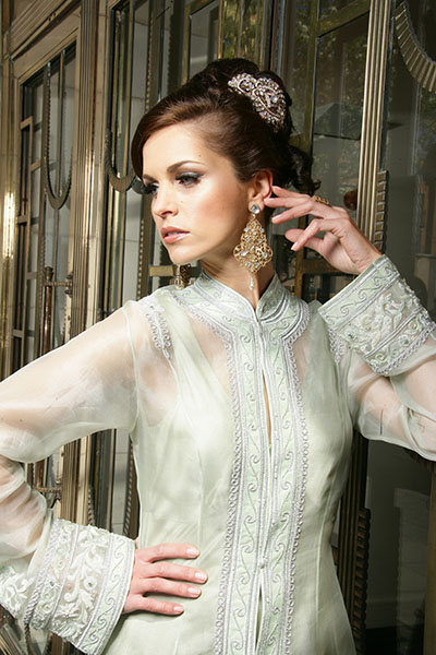 Bridal Hair Piece and Jewellery Collection