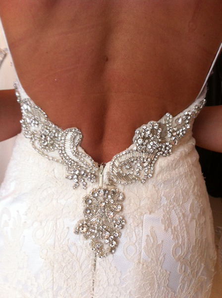 Bridal Bespoke Back Detail
